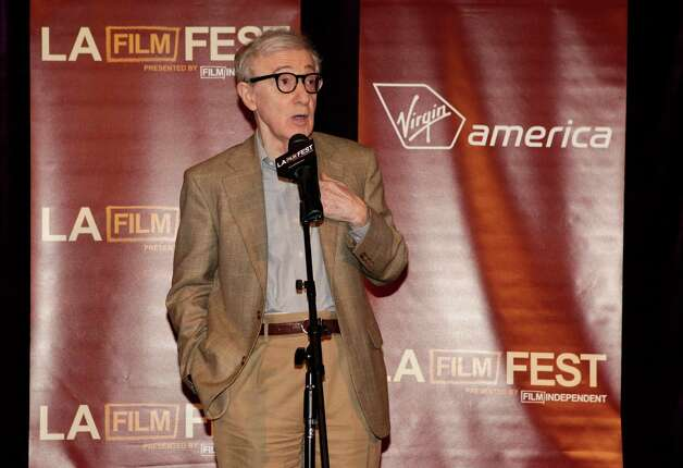"Woody Allen attends the premiere of ""To Rome With Love"" at Regal Cinemas L.A. LIVE on Thursday June 14, 2012 in Los Angeles. (Photo by Todd Williamson/Invision/AP) Photo: Todd Williamson / 2012 Invision"