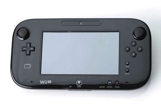 Nintendo's Wii U touch screen controller on Nov. 1, 2012. The video game console's main selling point is the new controller that is a cross between a tablet and a traditional video game controller. (Tony Cenicola/The New York Times) Photo: TONY CENICOLA / NYTNS