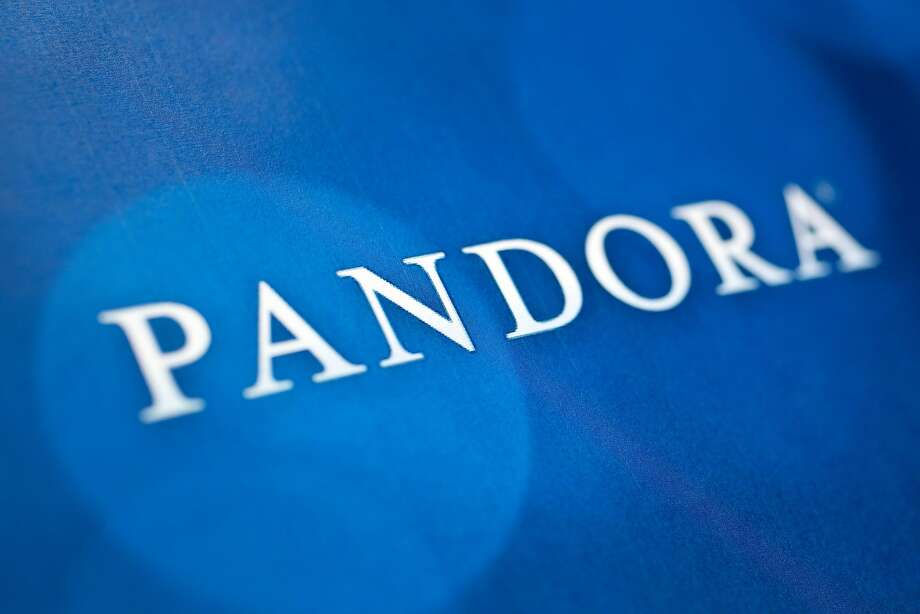 The Pandora Media Inc. logo is photographed in Washington, D.C., U.S., on Tuesday, Nov. 20, 2012. Pandora Media Inc. is scheduled to release earnings data on Dec 4. Photographer: Andrew Harrer/Bloomberg Photo: Andrew Harrer, Bloomberg