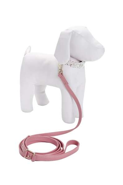 Oscar de la Renta Pet Collar and Leash, $39.99