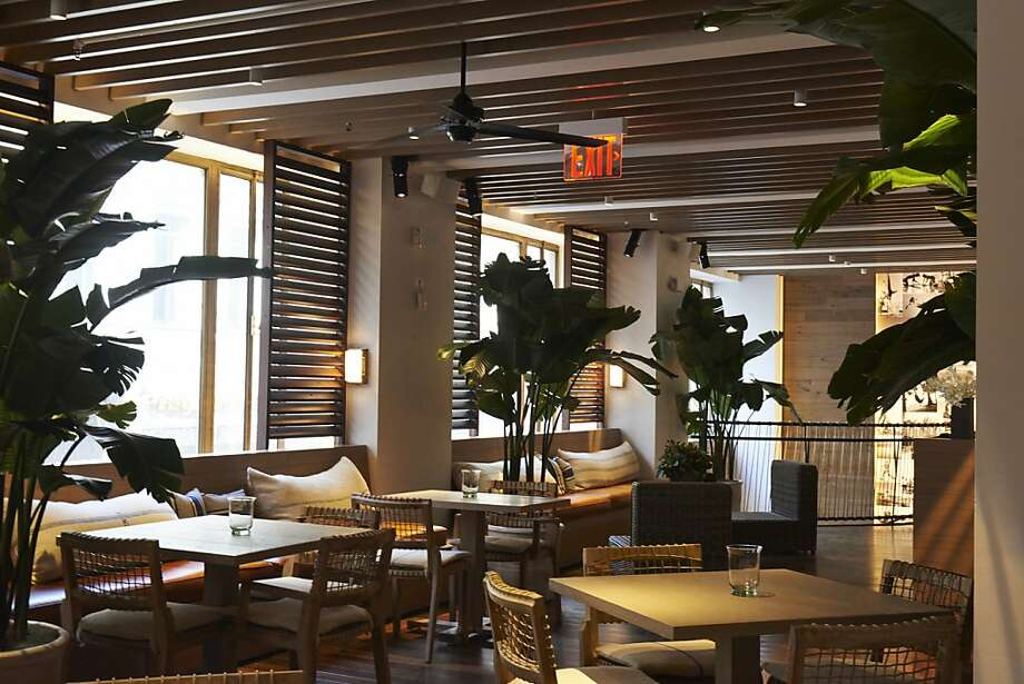 A Tommy Bahama store in New York includes an in-house restaurant. Photo: Tommy Bahama