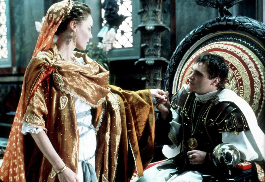 "Joaquin Phoenix was terrific as villain Commodus in ""Gladiator."" He's pictured with actress Connie Nielsen.  Photo: Getty Images / Getty Images North America"