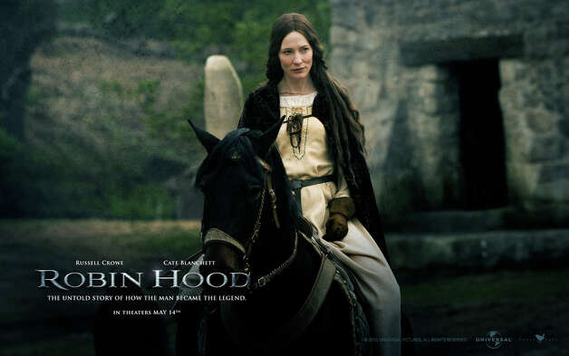 "Scott also directed ""Robin Hood"" in 2010, which starred Russell Crowe and Cate Blanchett.  Photo: Publicity Photo"