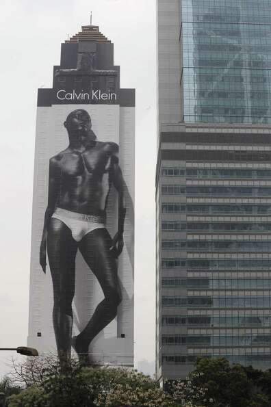 Then Djimon Housou became a Calvin Klein underwear model and continued to be a movie star.