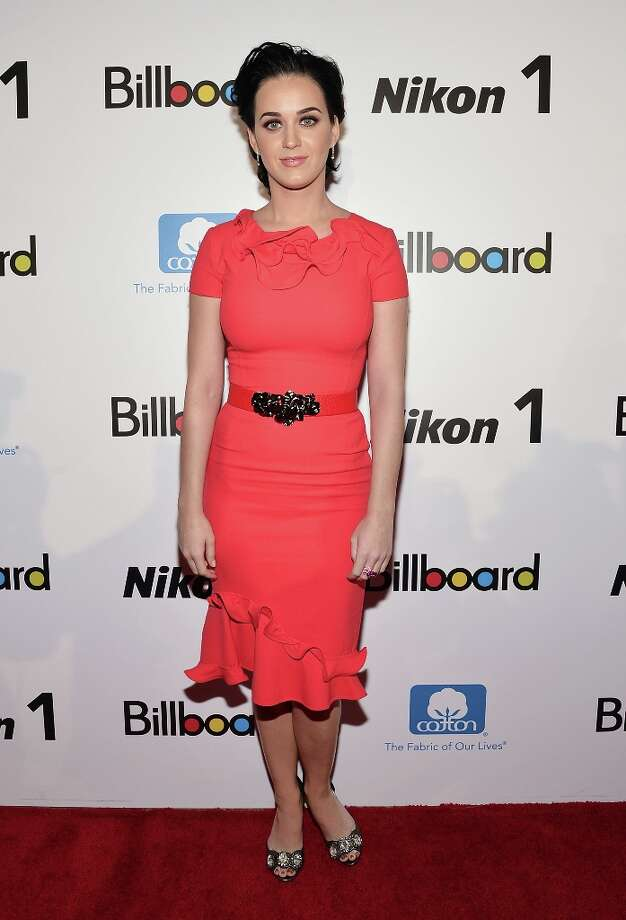 Singer Katy Perry attends the 2012 Billboard Women In Music Luncheon at Capitale on November 30, 2012 in New York City. Photo: Mike Coppola, Getty Images / 2012 Getty Images