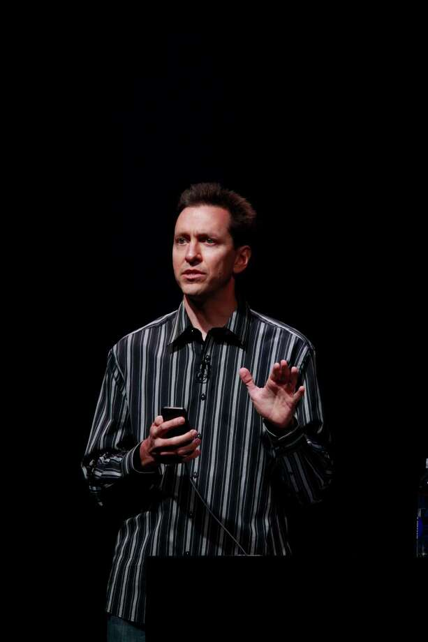 Head of Apple's iOS team, Scott Forstall introduces the iOS6 on new iPhone 5 at the Yerba Buena Center for the Arts on Wednesday Sep. 12, 2012 in San Francisco, Calif. Photo: Mike Kepka, The Chronicle / ONLINE_YES