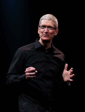 35. Tim Cook, 52, CEO of Apple. Photo: Justin Sullivan, Getty Images / 2012 Getty Images