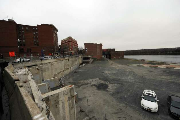The former city hall site on River Street in Troy, NY Friday Nov. 30, 2012. (Michael P. Farrell/Times Union) Photo: Michael P. Farrell