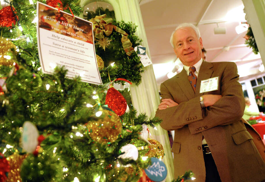 Cardinal Sheehan Center's Executive Director Terry O'Connor at the annual Fairfield Christmas Tree Festival at Burr Homestead in Fairfield, Conn. on Friday November 30, 2012. Money raised at the event benefits the Sheehan Center as well as the Norma F. Pfriem Breast Cancer Center. Photo: Christian Abraham / Connecticut Post