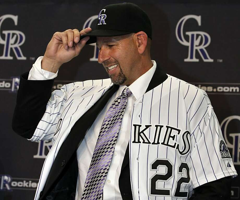 Walt Weiss, who was hired to manage the Colorado Rockies last month, said he looks at the game the way his manager in Oakland, Tony La Russa, does. Photo: Brennan Linsley, Associated Press