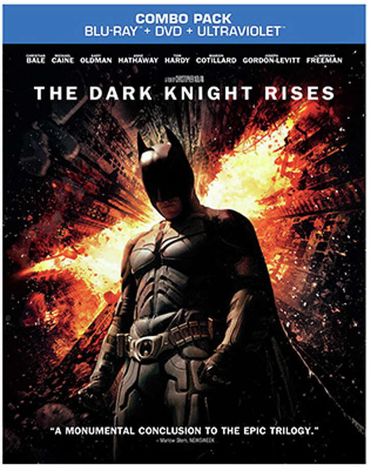 BD cover for The Dark Knight Rises (Warner Bros. / 2012)