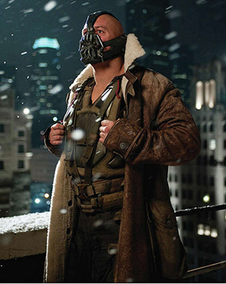 Tom Hardy as Bane in The Dark Knight Rises. (Warner Bros. / 2012)