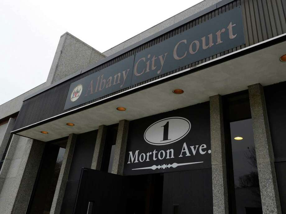 The City Court entrance of 1 Morton Avenue in Albany, N.Y. Nov 30, 2012.    (Skip Dickstein/Times Union) Photo: SKIP DICKSTEIN / 00020302A