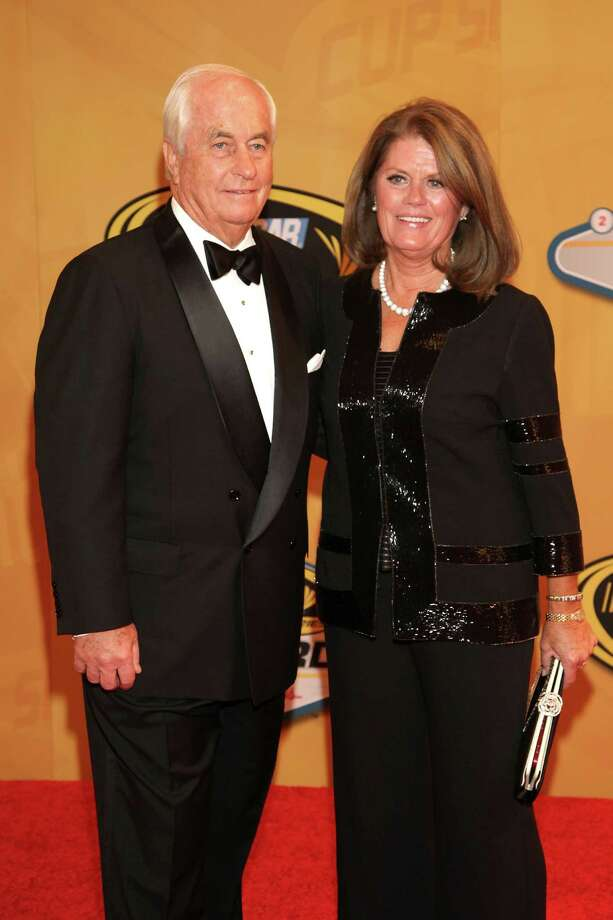LAS VEGAS, NV - NOVEMBER 30:  Team Owner Roger Penske and his wife Kathy arrive on the red carpet for the NASCAR Sprint Cup Series Champion's Awards at the Wynn Las Vegas on November 30, 2012 in Las Vegas, Nevada. Photo: John Gurzinski, Getty Images For NASCAR / 2012 Getty Images