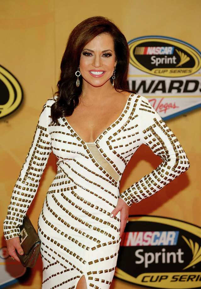 Robin Meade arrives at the NASCAR Sprint Cup Series auto racing awards on Friday, Nov. 30, 2012, in Las Vegas. (AP Photo/Isaac Brekken) Photo: Isaac Brekken, Associated Press / FR159466 AP
