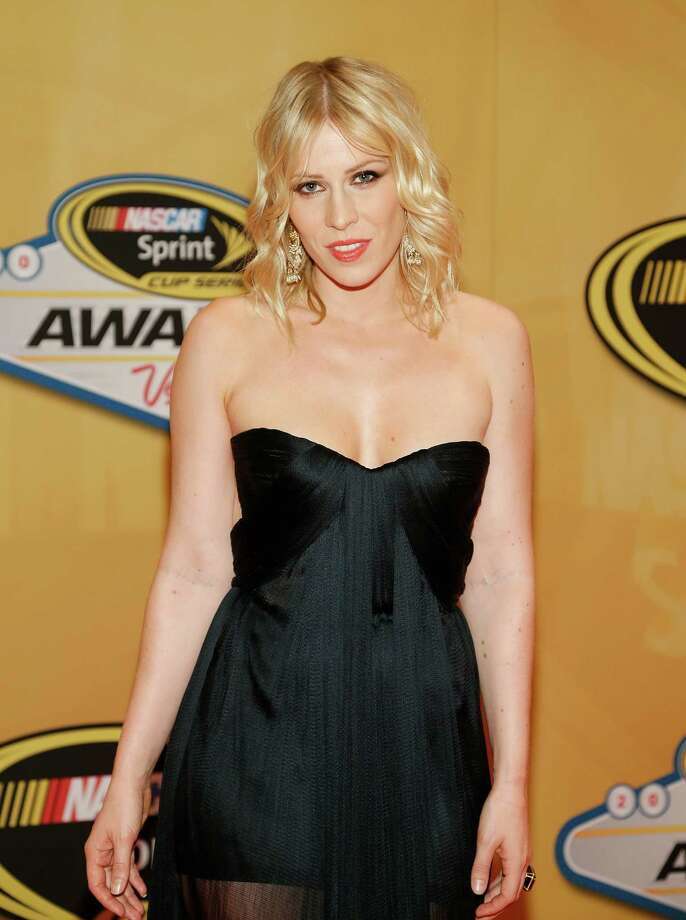 Natasha Bedingfield arrives at the NASCAR Sprint Cup Series auto racing awards on Friday, Nov. 30, 2012, in Las Vegas. (AP Photo/Isaac Brekken) Photo: Isaac Brekken, Associated Press / FR159466 AP