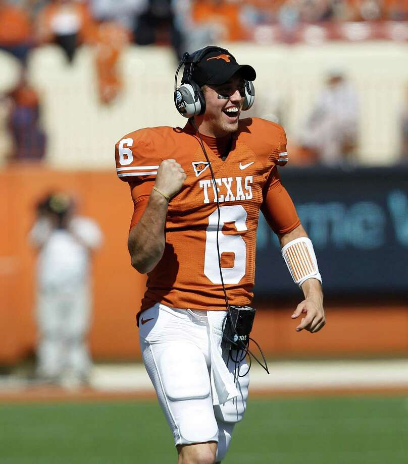Quarterback Case McCoy will make his first start of the year today when No. 23 Texas visits seventh-ranked Kansas State. Photo: Eric Gay, STF / AP