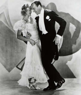 "A good Fred Astaire film is any one with Ginger Rogers, such as ""Flying down to Rio."""