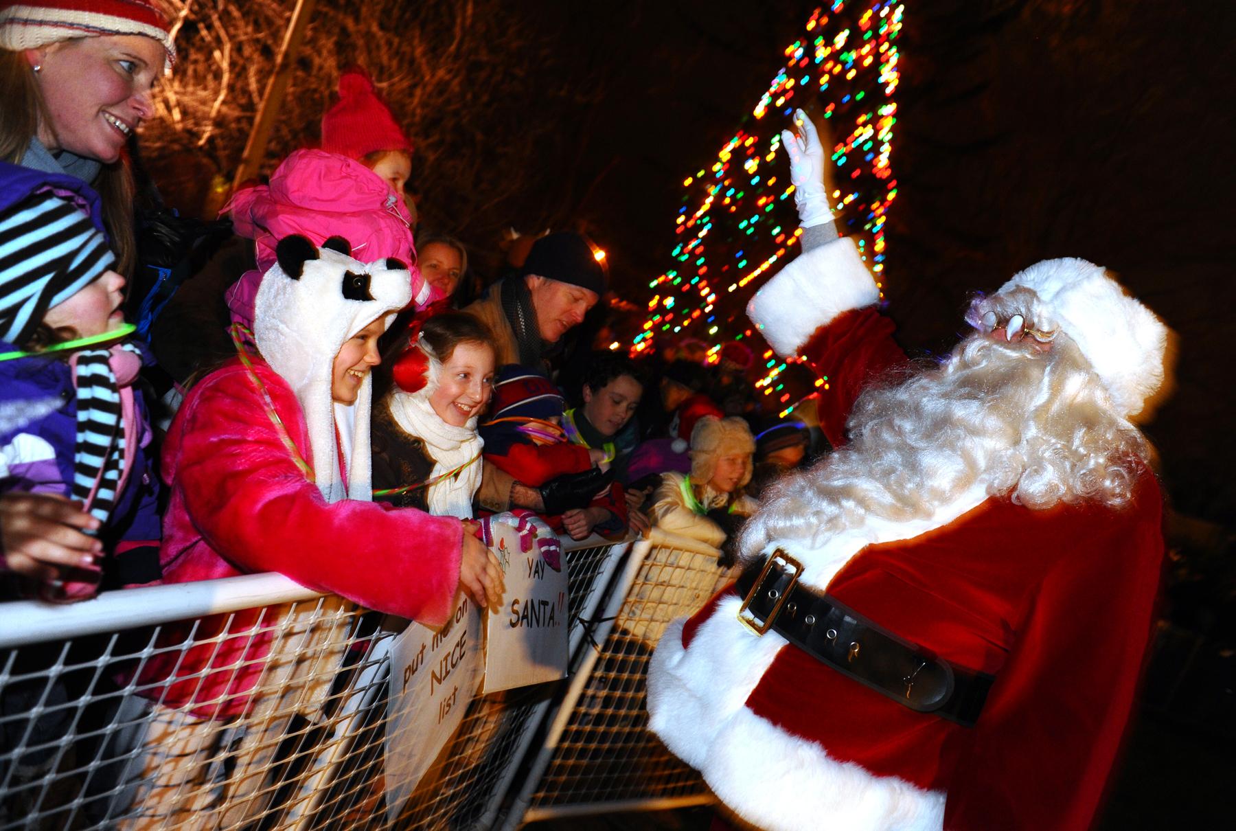 O, Christmas Tree! Crowd Heralds Bright Start To Season