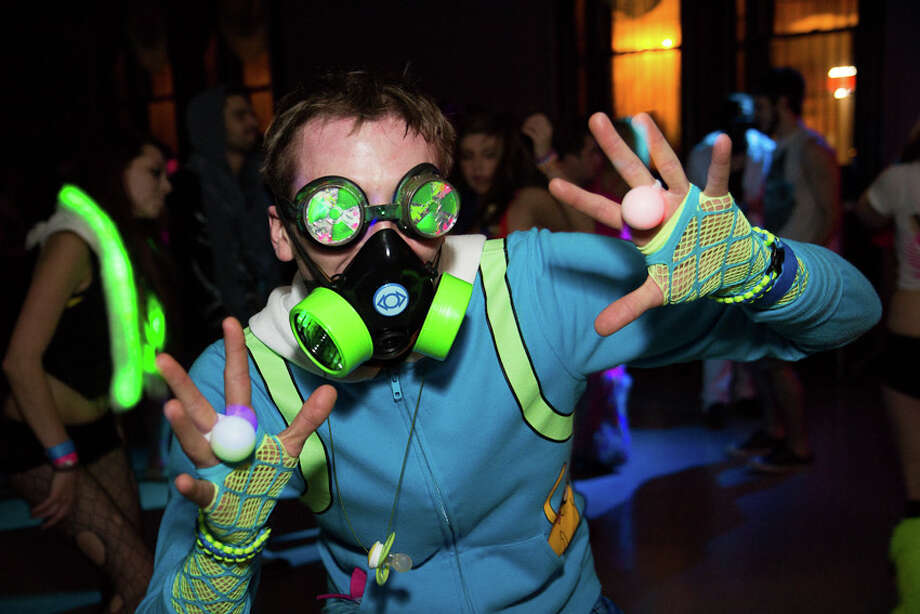 Were You Seen at the MasqueRave at the Washington Avenue Armory in Albany on Friday, November 30, 2012? Photo: Brian Tromans