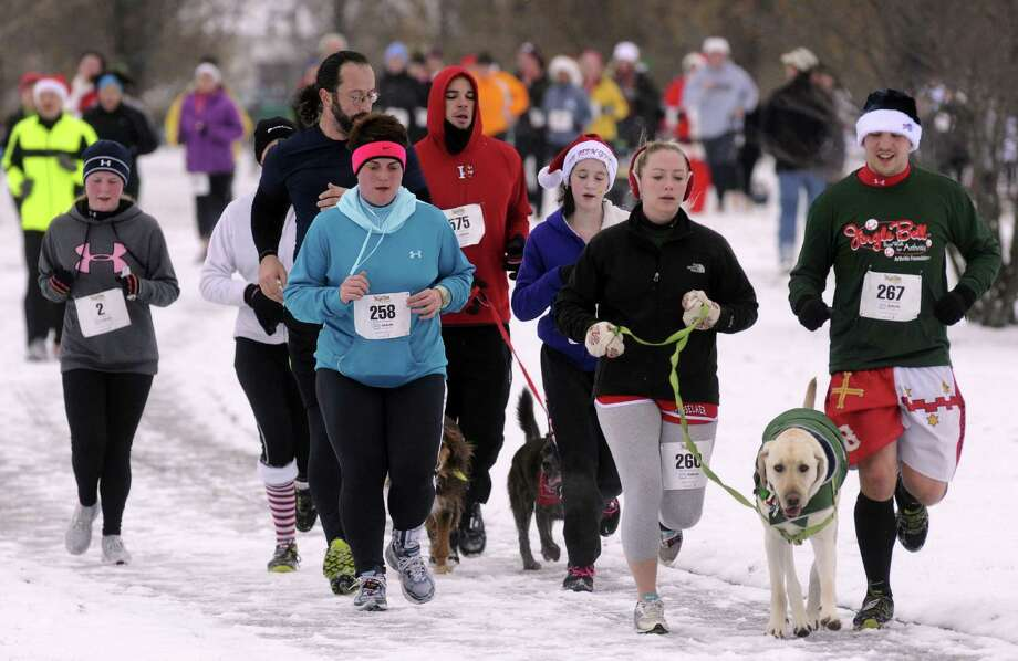 Jingle Bell 5K Run/Walk - Arthritis Foundation, December 7, Schenectady's Central Park. Photo: Michael P. Farrell