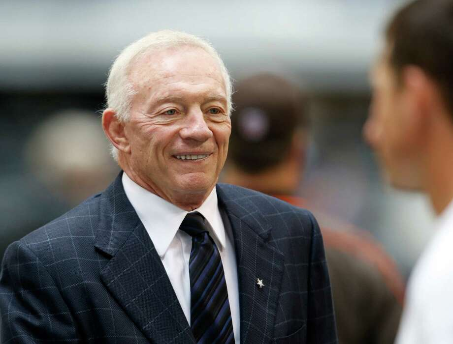 It may be a pipedream to expect Jerry Jones to ever remove himself from the front office, but that hasn't stopped Cowboys fans from trying to make it happen. Sharon Ellman/Associated Press Photo: Sharon Ellman, Associated Press / FR170032 AP