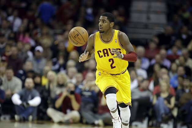 For now, the best work of Cavaliers guard Kyrie Irving is playing on YouTube. Photo: Mark Duncan, Associated Press