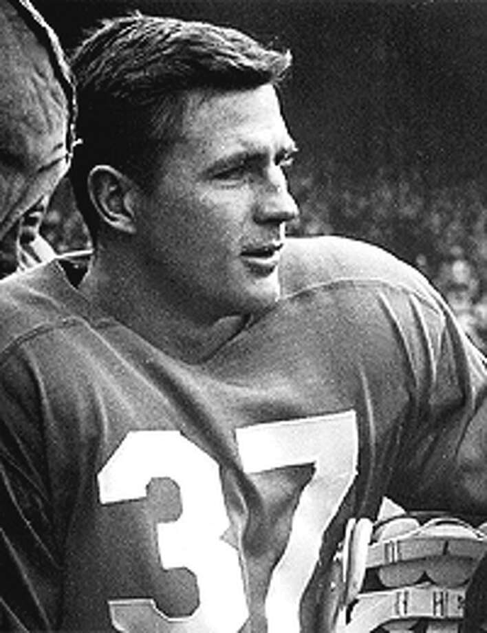 Doak Walker, SMU football player. After winning the Heisman, Walker ran for a touchdown, booted a 79-yard punt and was named Cotton Bowl MVP for the second consecutive year while leading his SMU Mustangs to a  21-13 victory over Oregon. Source: attcottonbowl.com Photo: FILE PHOTO