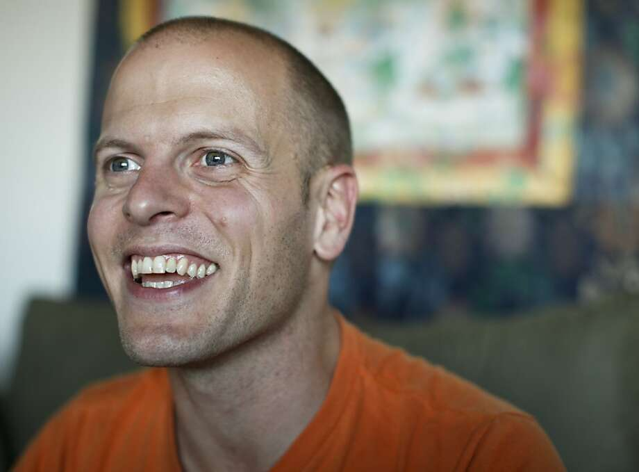 "Author of, ""The 4-Hour Chef,"" Tim Ferriss talks about his life in his San Francisco, Calif., home on Monday, Nov. 5, 2012. Photo: Russell Yip, The Chronicle"