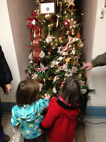 "Round Lake celebrates the holiday season with ""The Festival of Trees, a Little Victorian Village Christmas,"" Dec. 1-2 at the Round Lake Community Room, 49 Burlington Ave., Round Lake. The fundraiser for the village library features designer themed trees, table scapes, holiday decorations, and baked goods for purchase. Photo: Paul Block"