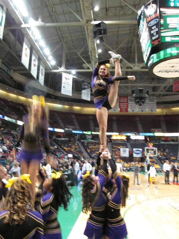 Were you Seen at the UAlbany vs. Siena basketball game at the Times Union Center in Albany on Saturday, Dec. 1, 2012? Photo: Kristi Gustafson Barlette/Times Union