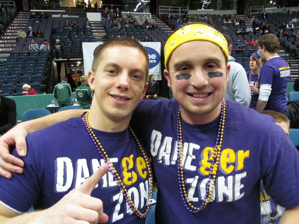 Were you Seen at the UAlbany vs. Siena basketball game at the Times Union Center in Albany on Saturday, Dec. 1, 2012?
