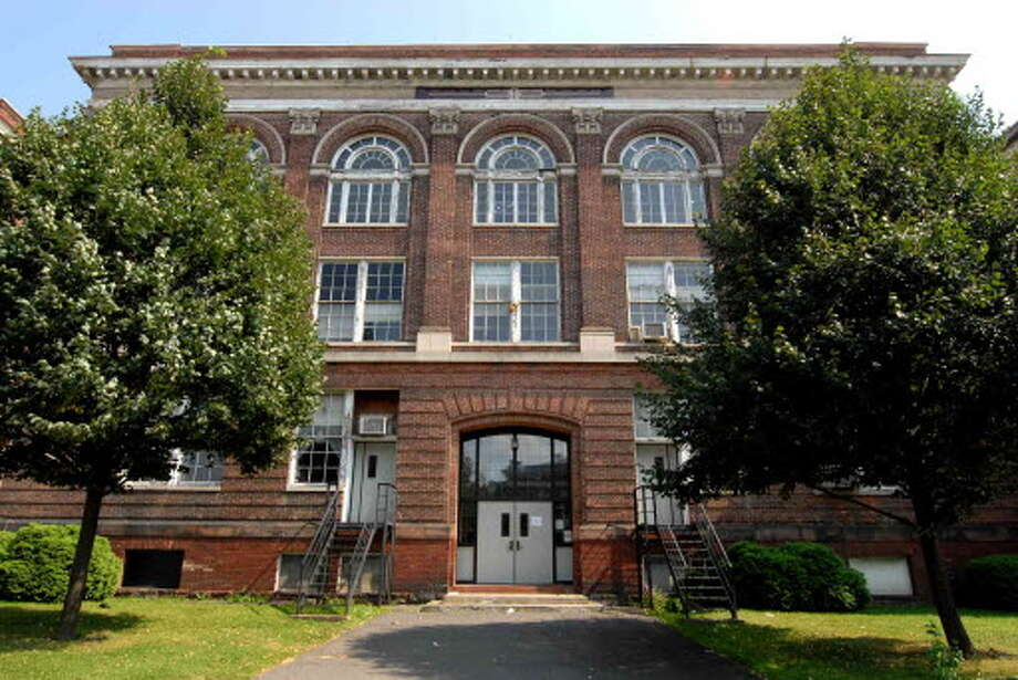 The former Albany Public School 12 built in 1901 at Western Avenue and Robin Street in Albany, New York 8/18/2009. (Michael P. Farrell / Times Union )