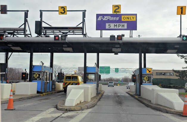 NYS Thruway toll booths at exit 23 on Tuesday Nov. 28, 2012 in Albany, N.Y.  (Lori Van Buren / Times Union) Photo: Lori Van Buren