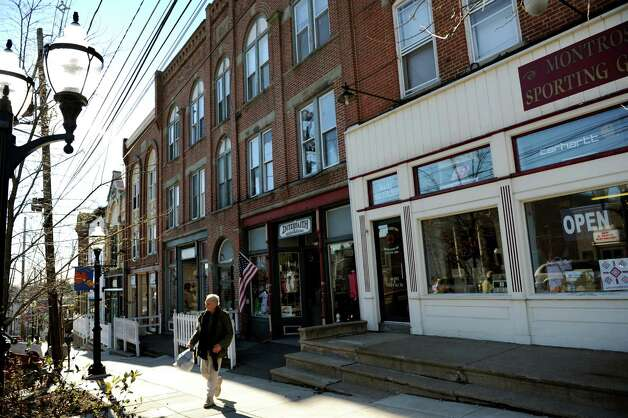 Shops on Main Street on Wednesday, Nov. 14, 2012, in Montrose, Penn. (Cindy Schultz / Times Union) Photo: Cindy Schultz