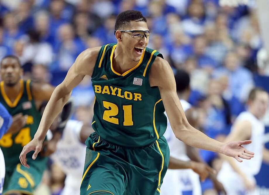 Baylor's Isaiah Austin has reason to smile during the Bears' victory over No. 8 Kentucky. Photo: Andy Lyons, Getty Images