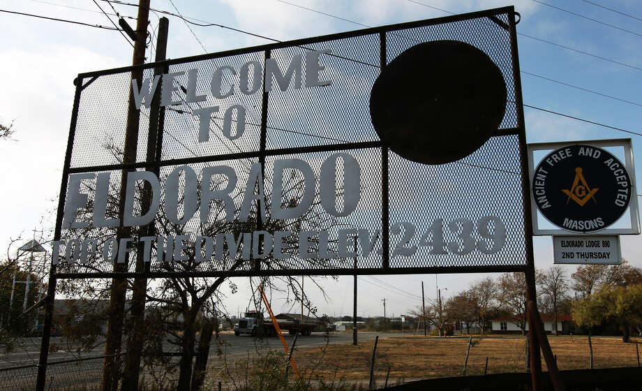 The town of Eldorado, Texas has dealt with the turmoil of the Fundamentalist Church of Jesus Christ of Latter-Day Saints and their prophet and leader Warren Jeffs since 2003. Nine years later, the town appears to be moving on and trying to regain a sense of normalcy according to officials. Photo: Kin Man Hui, San Antonio Express-News / ©2012 San Antonio Express-News