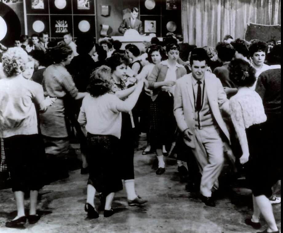 """American Bandstand"" first aired as a local show in Philadelphia and then went national in 1957. Photo: Associated Press"
