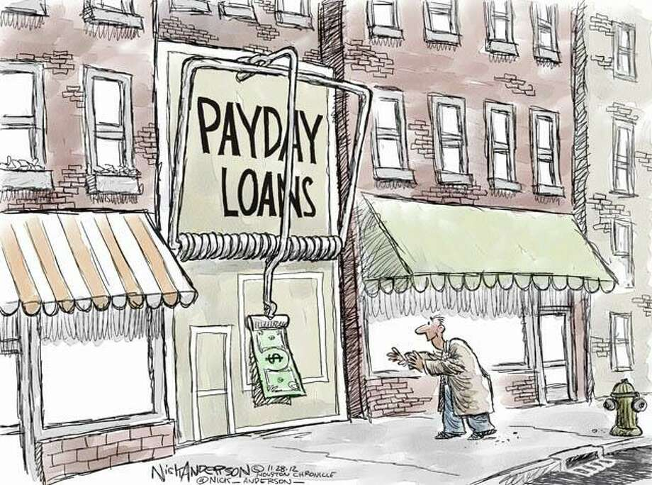 Predatory lending (Nick Anderson / Houston Chronicle)