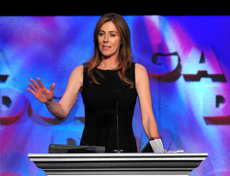 Kathryn Bigelow -- the first woman ever to win the best director Oscar.  Suggested by jtyler.