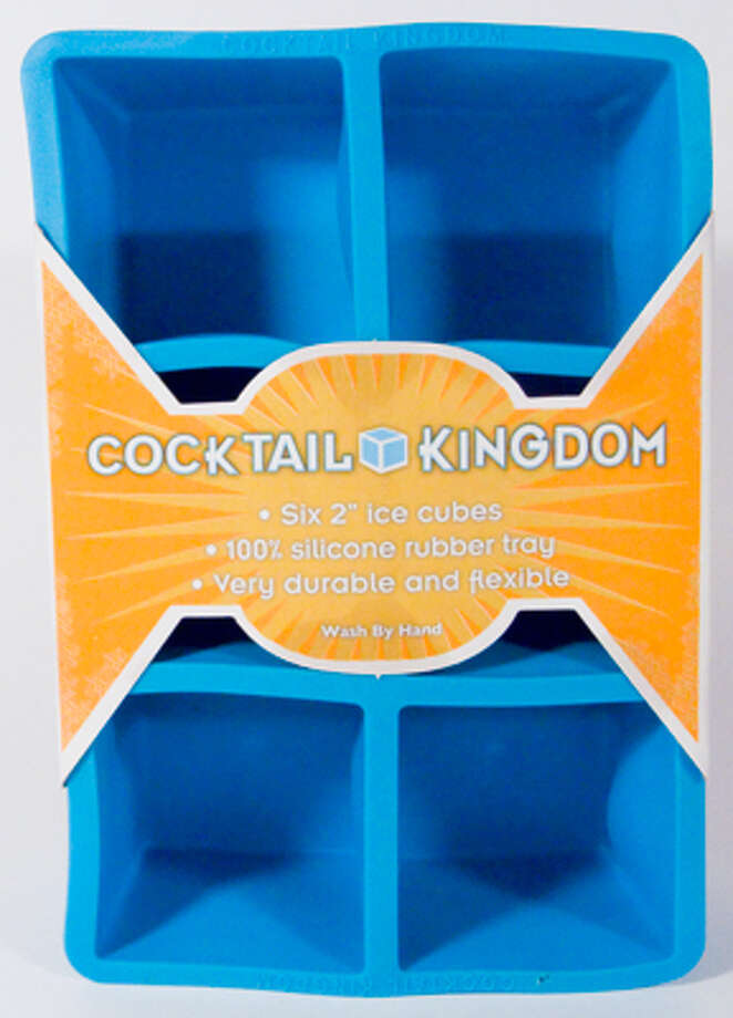 For the ice-cube snob on your list, check out this 2 Square Ice Cube Tray at at CocktailKingdom.com. Other varieties include a 1.25 Square Ice Cube Tray, 2 Ice Ball Mold and Collins Ice Mold. $6.95 (Courtesy photo) / (C) by RICOH GX200 User