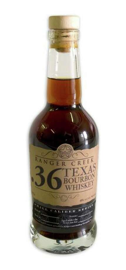 Ranger Creek Brewing & Distilling also makes a great small cask bourbon. The American Distilling Institute awarded a bronze medal to Ranger Creek .36 Texas Bourbon Whiskey that's barrel-aged in a large shipping container in San Antonio. $35 at most local liquor stores. (Courtesy photo)