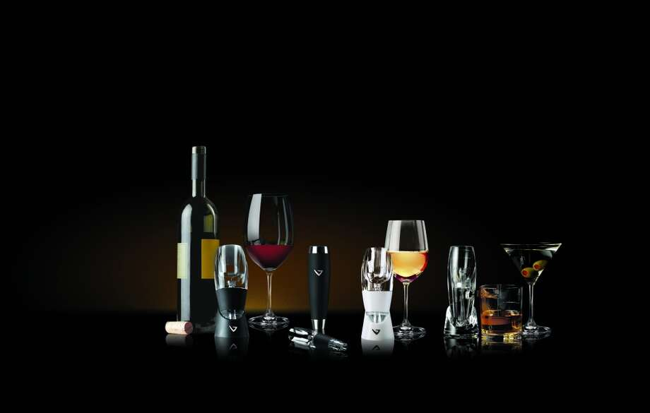 This family of aerators from Vinturi allows wines and spirits to breath quickly to bring out flavors when there is no time to decant. Simply pour the liquid through the aerator into a glass. Varieties include one for spirits, travel, and white and red wines. Available in most housewares sections and online; prices vary depending on style, $29.95-$70. (Courtesy Vinturi)