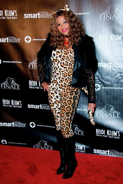 Pepa of Salt 'n Pepa attends Heidi Klum's Haunted Holiday Party benefiting Superstorm Sandy relief e