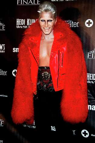 Jay Manuel attends Heidi Klum's Haunted Holiday Party benefiting Superstorm Sandy relief efforts, on Saturday, Dec. 1, 2012 in New York. Photo: Charles Sykes, Charles Sykes/Invision/AP / Invision2012