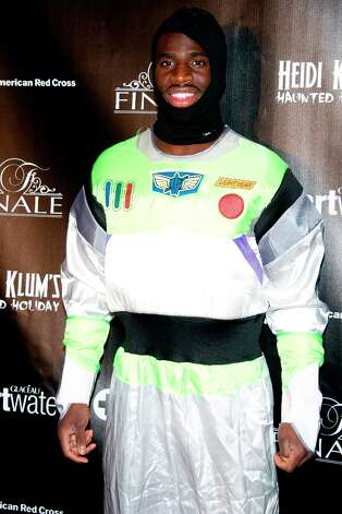 Prince Amukamara attend Heidi Klum's Haunted Holiday Party benefiting Superstorm Sandy relief efforts, on Saturday, Dec. 1, 2012 in New York. Photo: Charles Sykes, Charles Sykes/Invision/AP / Invision2012