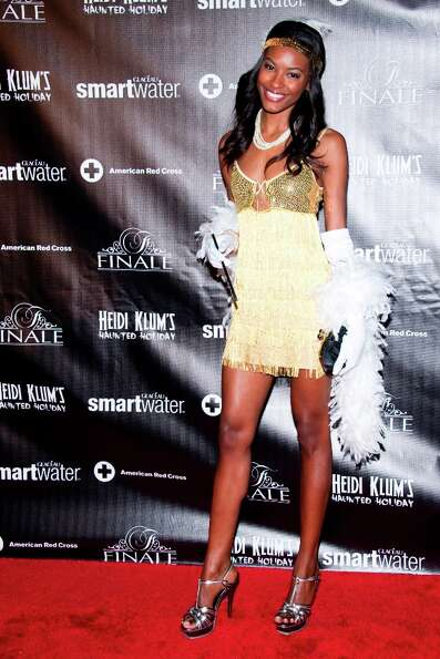 Sharam Diniz attends Heidi Klum's Haunted Holiday Party benefiting Superstorm Sandy relief efforts,