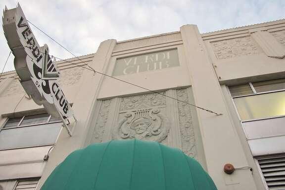 Verdi Club, SF