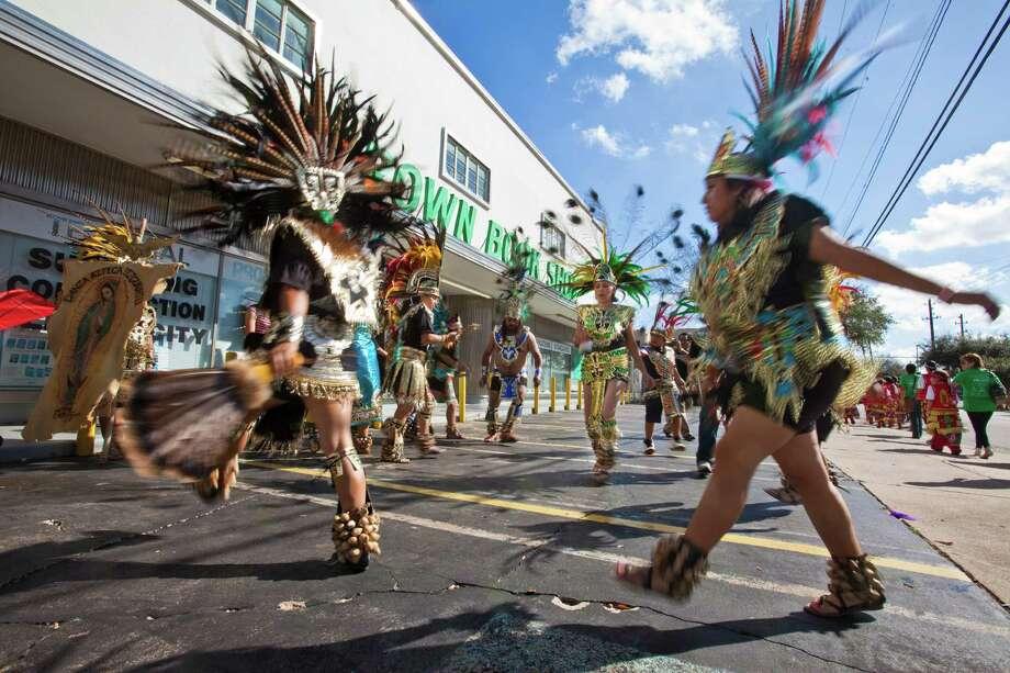 A matachines group warms up. Photo: Eric Kayne / © 2012 Eric Kayne