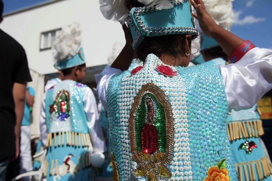 A matachines group warms up. Photo: Eric Kayne / © 2012 Eric Kayne